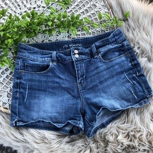 Victoria's Secret Hipster Jean Shorts SZ 12